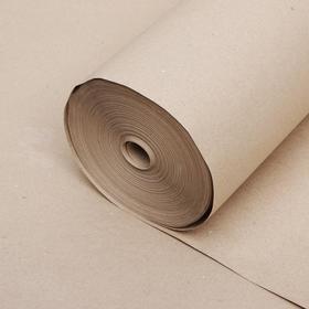 Бумага оберточная , марка Е, 840 мм х 100 м