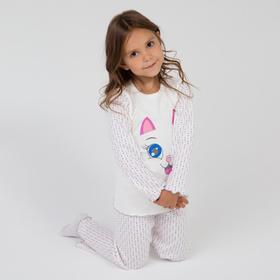 Пижама для девочки, цвет микс, рост 104 см