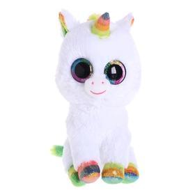 Мягкая игрушка «Единорог Пикси белый», 25 см