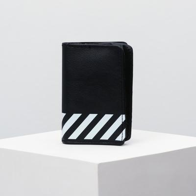 """Folding wallet """"Black and White"""""""