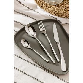 Набор столовых приборов, Magistro «Джентри», 4 предмета, серебро