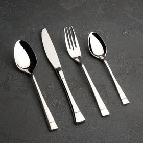 Набор столовых приборов, Magistro «Виконт», 4 предмета, cеребро