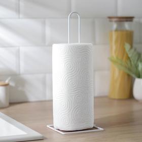 {{photo.Alt || photo.Description || 'Подставка для бумажных полотенец, 12×12×32,5 см, цвет белый'}}