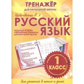 Русский язык 1 класс. Тренажёр для начальной школы