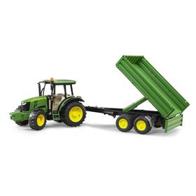 "Трактор ""John Deere 5115M"" с прицепом 02-108"