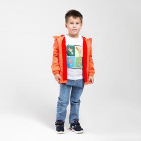 Футболка детская «Пятачок» цвет белый, рост 98 см