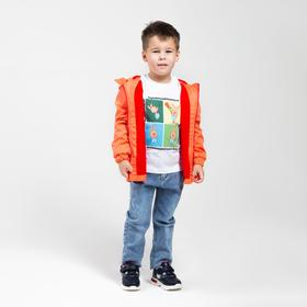 Футболка детская «Пятачок» цвет белый, рост 110 см