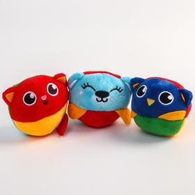 Развивающая игрушка - мячик для малыша «Малыши», МИКС