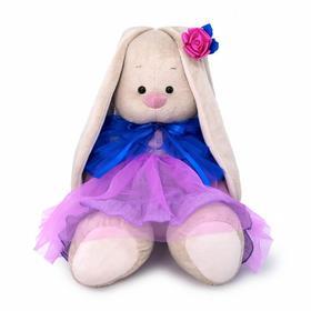 Мягкая игрушка «Зайка Ми большой в платье с пелериной», 34 см