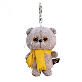 Мягкая игрушка-брелок «Басик в шарфике» 12 см