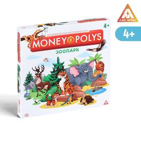 Экономическая игра «MONEY POLYS. Зоопарк», 4+