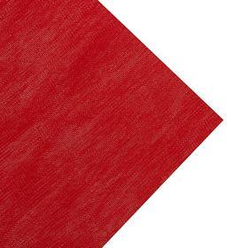 Ткань Новогодняя Красная однотонная, ширина 150 см (165 пог. м)