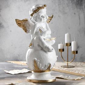 Бело-золотистый
