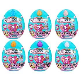 Мягкая игрушка мини RainBocoRns, в яйце, с аксессуарами, разноцветный