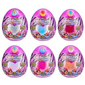 Игрушка плюшевая-сюрприз RainBocoRns S3, в яйце, с аксессуарами, МИКС