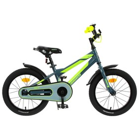 """Велосипед 16"""" Graffiti Deft, цвет серый/салатовый"""