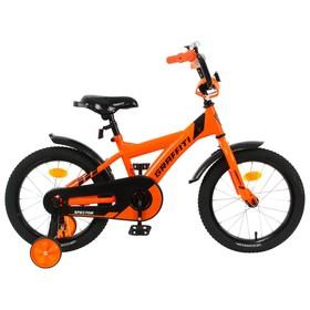 """Велосипед 16"""" Graffiti Spector, цвет неоновый красный"""