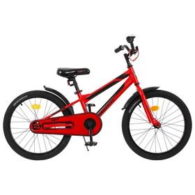 """Велосипед 18"""" Graffiti Deft, цвет красный/чёрный"""