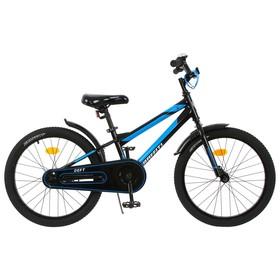 """Велосипед 18"""" Graffiti Deft, цвет черный/голубой"""