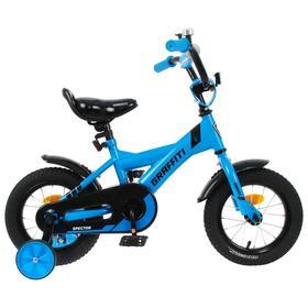 """Велосипед 12"""" Graffiti Spector, цвет неоновый синий"""