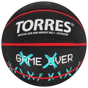 Мяч баскетбольный TORRES Game Over, B02217, размер 7