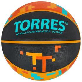 Мяч баскетбольный TORRES TT, B02127, размер 7