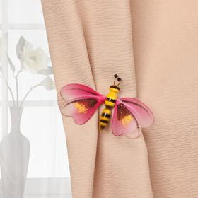 Curtain accessory Bee 65*40mm (FAS 5pcs price per piece) MIX