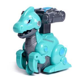 Игрушка инерционная «Робозавр», двигается от нажатия, МИКС