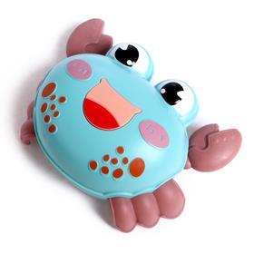Игрушка инерционная «Крабик», двигается от нажатия, цвета МИКС