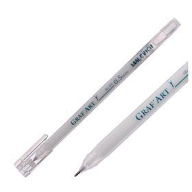 Ручка гелевая для декоративных работ Малевичъ 0.5 мм, белая 198000
