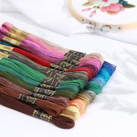 Floss thread set 25pcs 10 ± 1m Autumn