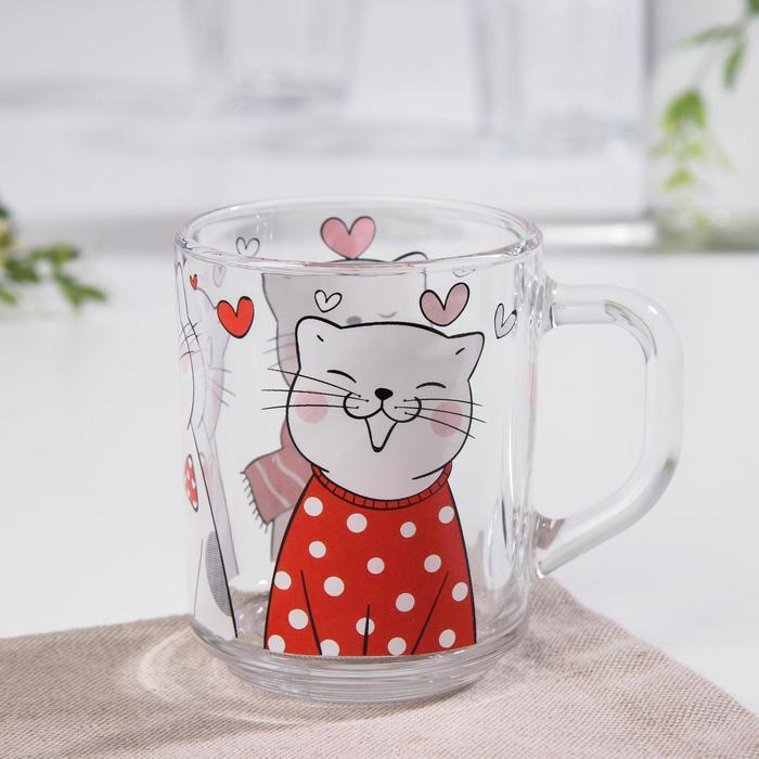 "Dolyan's mug ""March cats"", 200 ml"