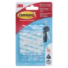 Легкоудаляемый крючок для ключей на прозрачной основе Comman - фото 308330141