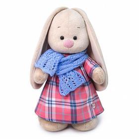 Мягкая игрушка «Зайка Ми в голубом шарфе», 32 см