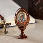 """Souvenir Egg stand on the icon """"mother of God Tenderness"""""""