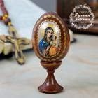 """Сувенир Яйцо на подставке икона """"Неувядаемый цвет"""""""