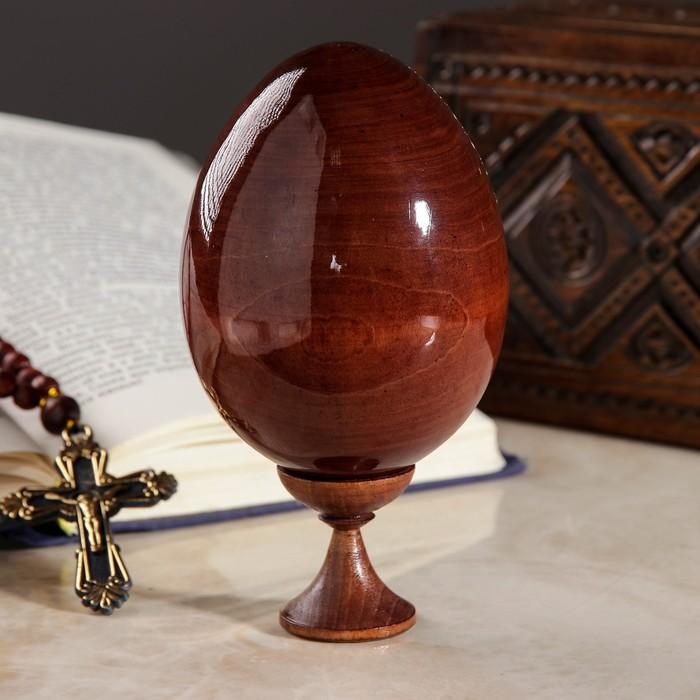 """Сувенир Яйцо на подставке икона """"Троица"""""""