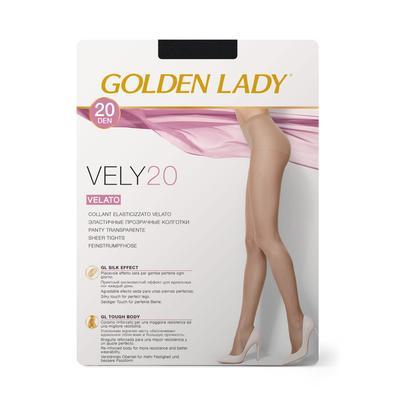 Колготки женские Golden Lady Vely, 20 den, размер 2, цвет nero