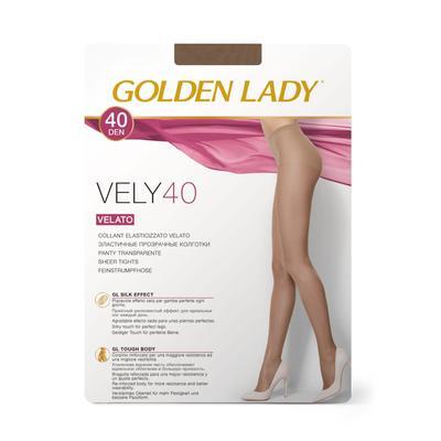 Колготки женские Golden Lady Vely, 40 den, размер 2, цвет cognac