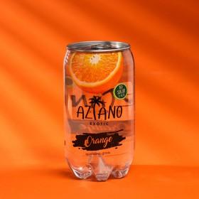 Вода газированная Aziano с апильсином 350 мл