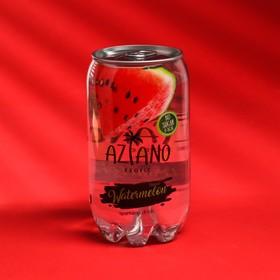 Вода газированная Aziano с арбузом 350 мл