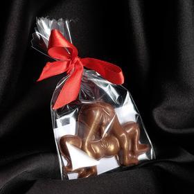 Шоколад фигурный «Любовная связь» молочный, 20 г