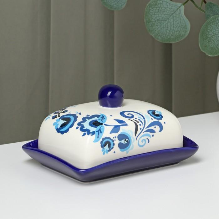 Маслёнка Доляна «Свиристель», 16,5×12,5×10 см - фото 622674
