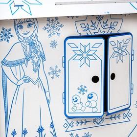 Дом из картона «Дом-раскраска», Холодное сердце