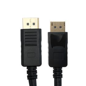 Кабель видео Cablexpert CC-DP2-6, DisplayPort-DisplayPort, вер 1.2, 1.8 м, черный