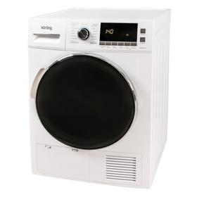 Сушильная машина Körting KD 60T8, класс В, 8 кг, дисплей, бело-чёрная Ош