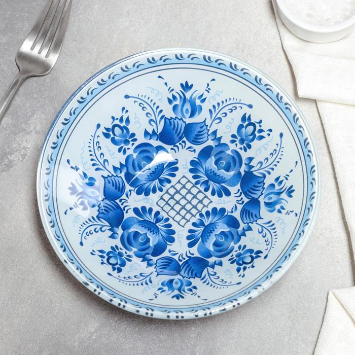 Миска Доляна «Синева», 18×4,5 см - фото 671309