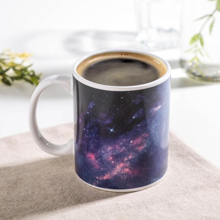 """Dolyan's chameleon mug """"Full Moon"""", 280 ml, black"""