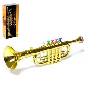 Игрушка музыкальная «Труба», цвета МИКС