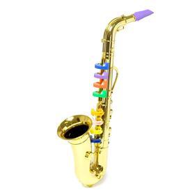 Игрушка музыкальная «Саксофон», цвета МИКС